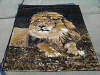 BRAND NEW! NEVER WALKED ON! LARGE, BEAUTIFUL JUTE-BACK
