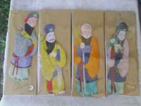 For sale are these doll figures of an oriental origin.