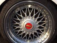 Up for sale Original BBS style 5 rims (two piece ) BMW