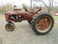 "Heres a rare find!1948 International Farmall""C"" in"