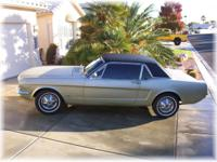ORIGINAL 1965 FORD MUSTANG HARD TOP COUPE FOR SALE!