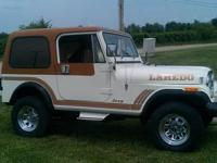 I have a very desirable 1986 JEEP CJ 7 LAREDO for sale.
