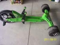 This is an original Green Machine Riding Toy from