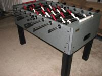 A Harward Foosball table in great condition: -Heavy