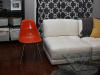 For sale is an Origional Herman Miller fiberglass shell