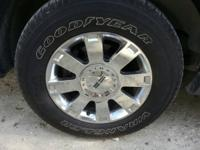 I have the original Lincoln navigator wheels that came