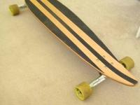 I am selling my very lightly used longboard. There is