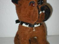 This vintage Mack Dog came directly from Mack Truck and