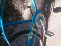 Malibu Receptacle, great tough bike for riding on the