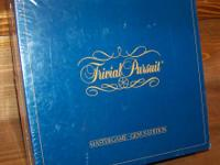 Original NEW Sealed   1981 Trivial Pursuit Master Game