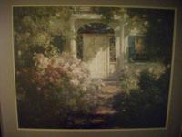 HERE IS A FINE HAND PAINTED ORIGINAL OIL -LITHO.