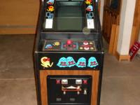 This is an ORIGINAL PACMAN UPRIGHT ARCADE GAME,