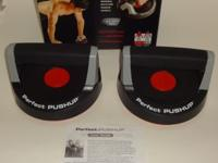 Up for sale is a used set of perfect pushup pushup