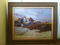 Original painting from Phillip Burnham Hicken a