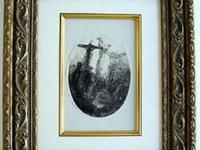 Rembrandt ?Christ Between the Two Thieves? Etching &