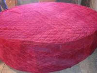 Original 1974.  Round Bed.  with.  Original Red