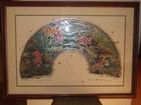 This beautiful large Seriograph by William Gatewood is