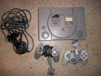 I have an original Sony Playstation for sale. Comes