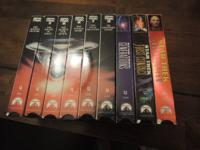 A collectible set of the original Star Trek movies,