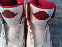 I have a gentley used pair of air jorden 2 .for sale