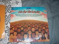 "Original ""We are the World"" Record..........$20 If"