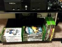 ORIGINAL Xbox with 3 controllers, 1 adapter for play