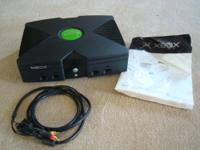 I am selling the original Microsoft Xbox, black