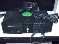 I HAVE A NICE XBOX FOR SALE. IT IS THE ORIGINAL XBOX.