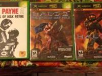 4 original Xbox games for sale. Games include: Max