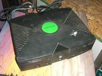 Used Microsoft brand Xbox video game console Works