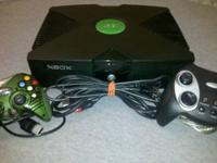 Its softmodded with Evolution X. The xbox itself comes