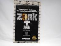 ORIGINAL ZORK BY INFOCOM = 810 DISK DRIVE THE FIRST