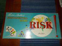 This is an initial 1959 Risk parlor game. It has all