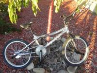 I have a all original chrome gt vertigo bmx bike. I'm