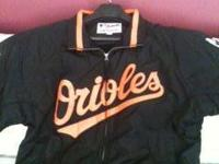 ORIOLES Majestic On-Field Jacket Size: