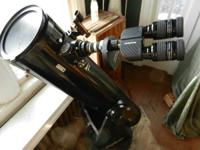 ORION DOBSONIAN XT8 TELESCOPE, BINOCULAR VIEWER, FILTER