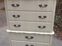 This is a gorgeous French Provincial shabby chic