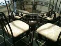 ornate kitchen table and chairs $150 call or text
