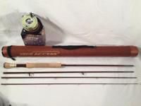 Both Rod and Reel are new and only tried in back yard