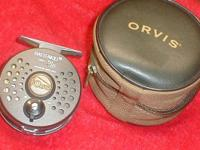 Orvis Battenkill reel is Made In England, has a disc