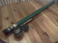 I have a like new rod and reel..left handed Model 795