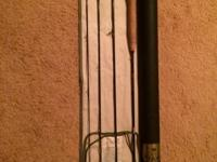 "For sale is an Orvis Superfine Trout Bum 7'6"" 4 pc 3wt"