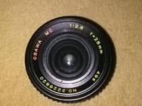 Osawa 28mm 1:2.8 Lens for $50