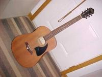 For sale oscar Schmidt guitar mod OG-2M lacted in