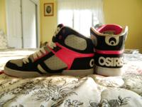 Like new Osiris's. Have only been worn a few times and