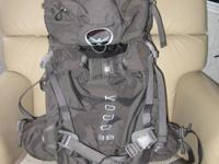 Like new  Osprey back pack for backcountry