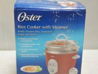 $15  DETAILS: Auto cook senses when rice is done and