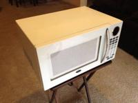 White Oster OGB81101 digital microwave for sale!! $40