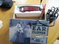 Oster horse ear, mane, muzzle and fetlock clippers.