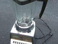 This is an Osterizer Classic VIII blender in perfect